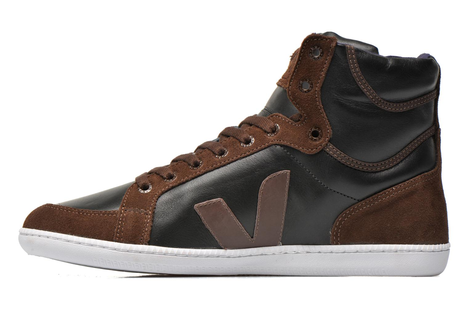 Trainers Veja Spma leather Black front view