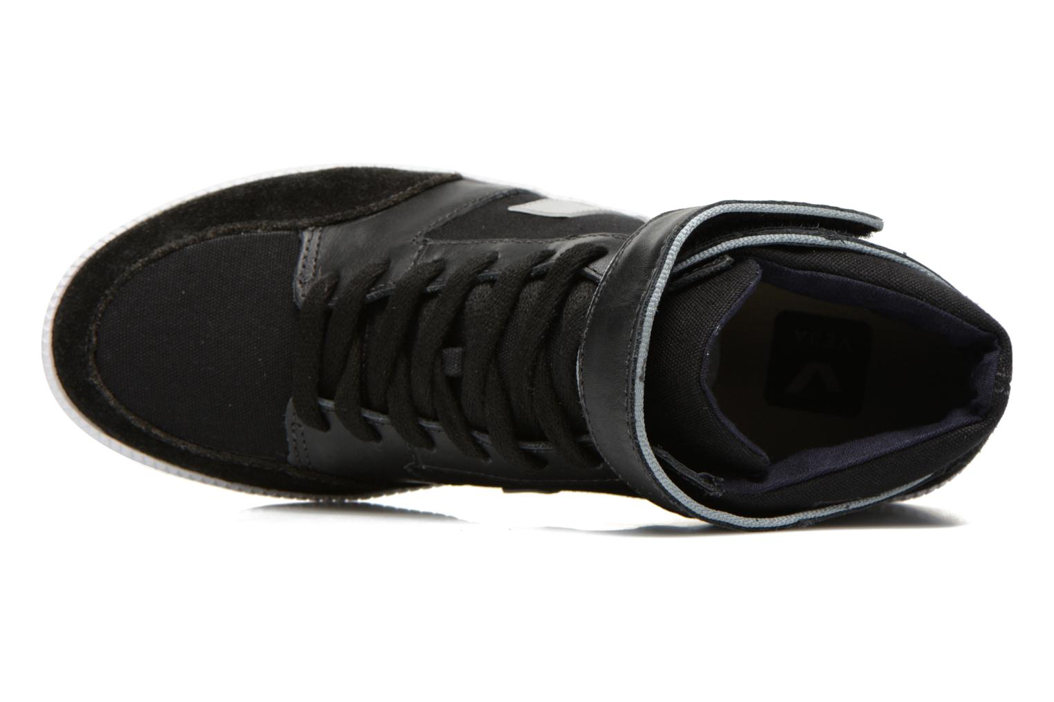 Trainers Veja Felicite Black view from the left