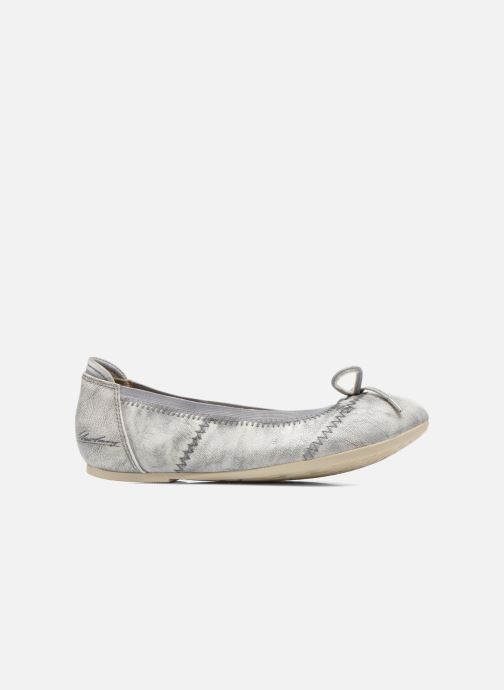 Ballet pumps Mustang shoes Leah Silver back view