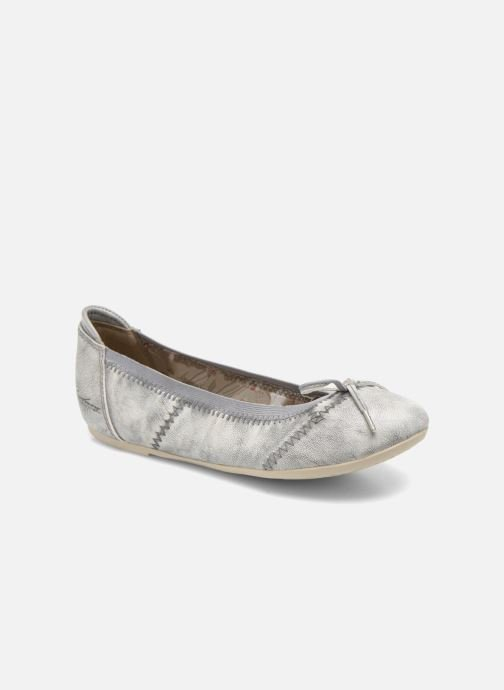 Ballet pumps Mustang shoes Leah Silver detailed view/ Pair view