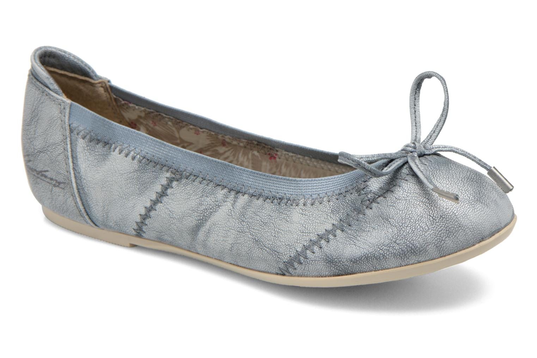 Ballerinas Mustang shoes Leah blau detaillierte ansicht/modell