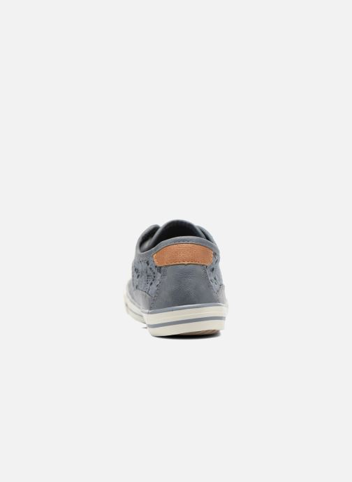 Sneakers Mustang shoes Hannah Blauw rechts