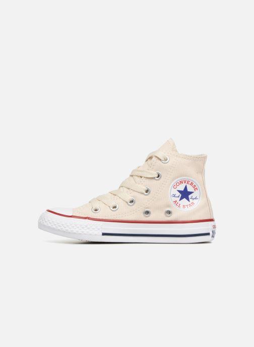 Sneaker Converse Chuck Taylor All Star Hi beige ansicht von vorne