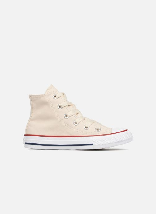 Sneaker Converse Chuck Taylor All Star Hi beige ansicht von hinten