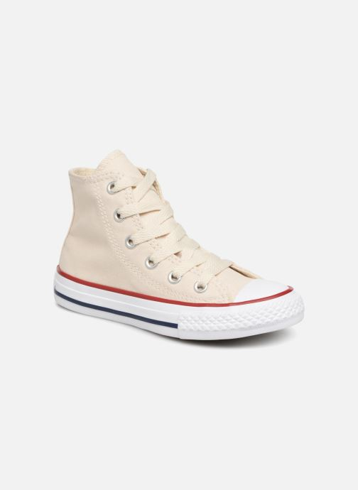 Sneakers Converse Chuck Taylor All Star Hi Beige detaljeret billede af skoene