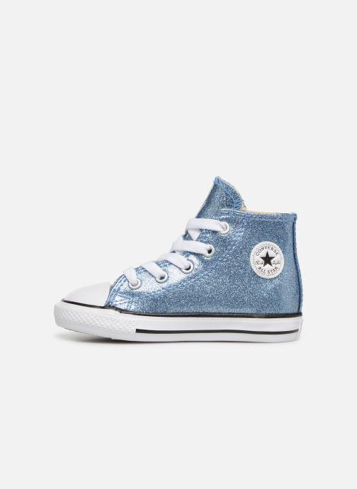 Sneakers Converse Chuck Taylor All Star Hi Azzurro immagine frontale