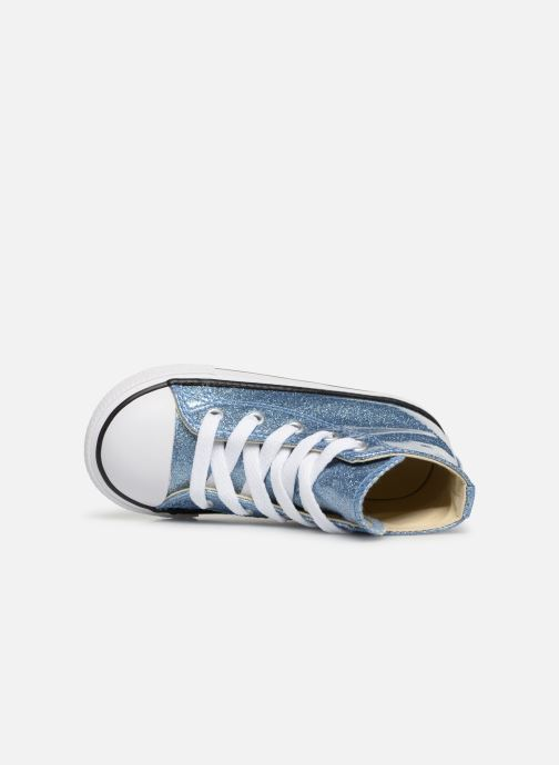 Sneakers Converse Chuck Taylor All Star Hi Azzurro immagine sinistra