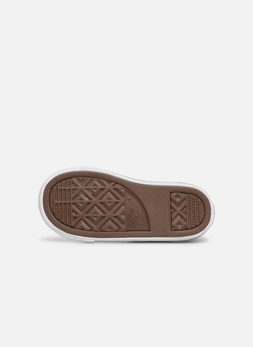 Sneaker Converse Chuck Taylor All Star Hi blau ansicht von oben