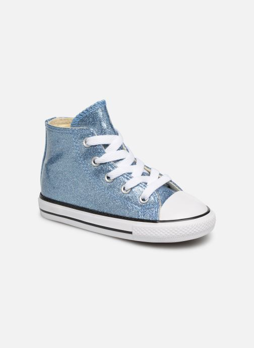 Sneakers Converse Chuck Taylor All Star Hi Blauw detail