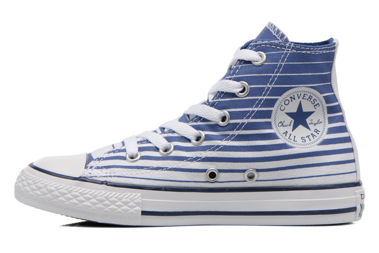 Baskets Converse Chuck Taylor All Star Hi Bleu vue face