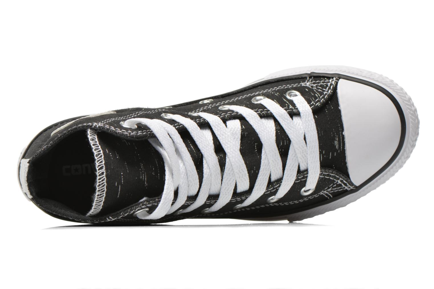 Trainers Converse Chuck Taylor All Star Hi Black view from the left