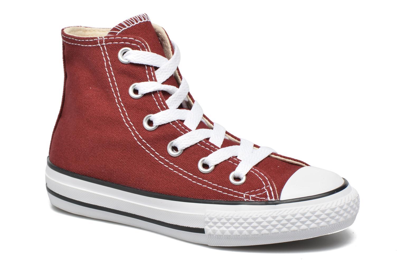 Baskets Converse Chuck Taylor All Star Hi Rouge vue détail/paire