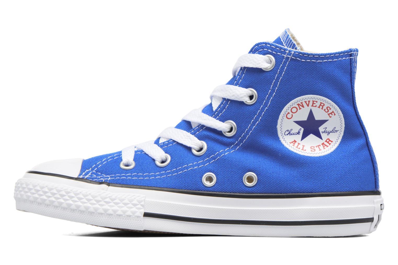 Sneakers Converse Chuck Taylor All Star Hi Blauw voorkant