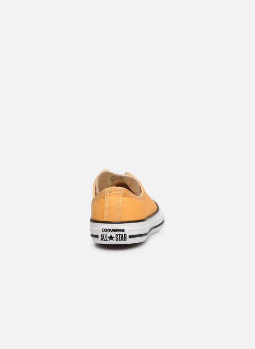 Sneakers Converse Chuck Taylor All Star Ox Giallo immagine destra