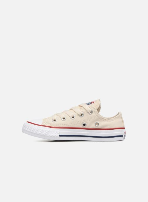 Sneakers Converse Chuck Taylor All Star Ox Beige immagine frontale