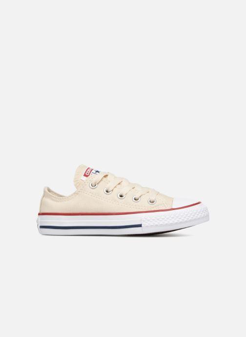 Sneaker Converse Chuck Taylor All Star Ox beige ansicht von hinten