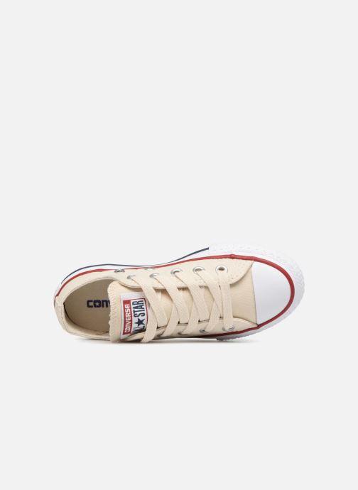 Sneaker Converse Chuck Taylor All Star Ox beige ansicht von links