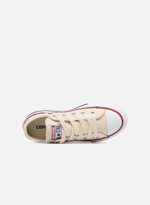 Sneakers Converse Chuck Taylor All Star Ox Beige immagine sinistra