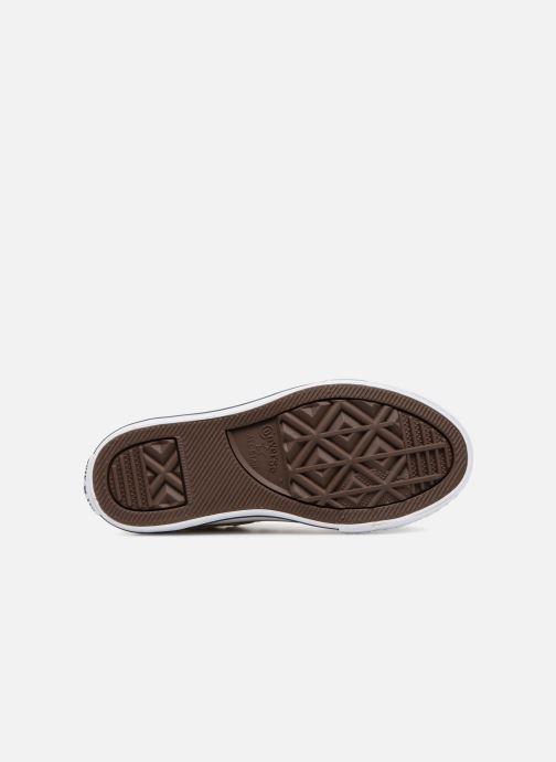 Sneakers Converse Chuck Taylor All Star Ox Beige immagine dall'alto