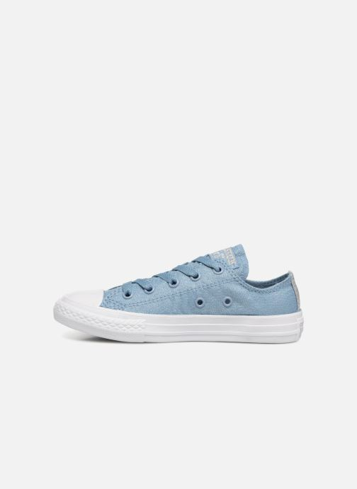 Sneakers Converse Chuck Taylor All Star Ox Azzurro immagine frontale