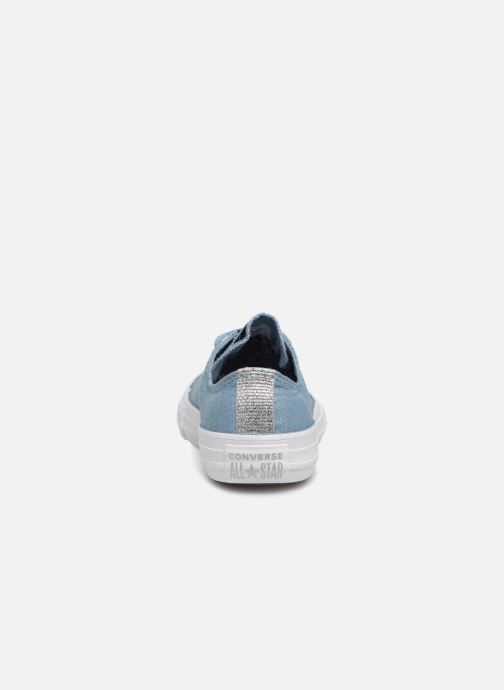 Baskets Converse Chuck Taylor All Star Ox Bleu vue droite