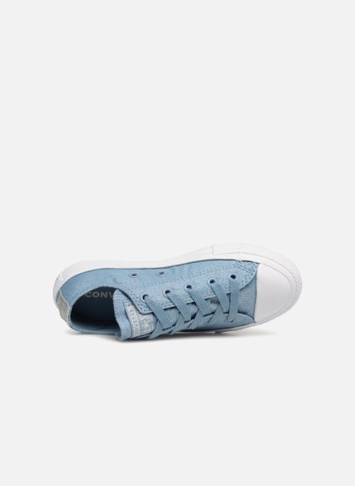 Baskets Converse Chuck Taylor All Star Ox Bleu vue gauche