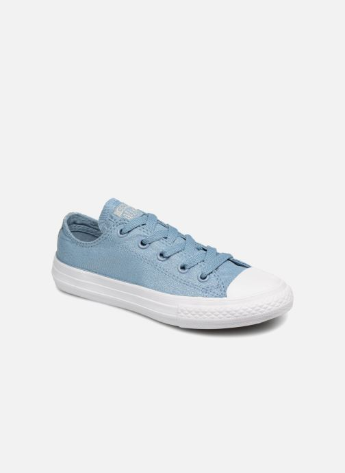 Baskets Converse Chuck Taylor All Star Ox Bleu vue détail/paire