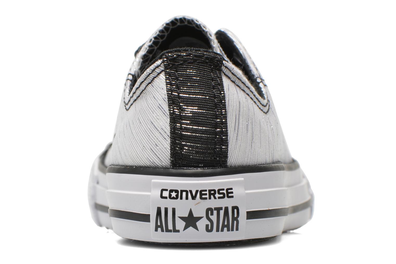 Baskets Converse Chuck Taylor All Star Ox Blanc vue droite