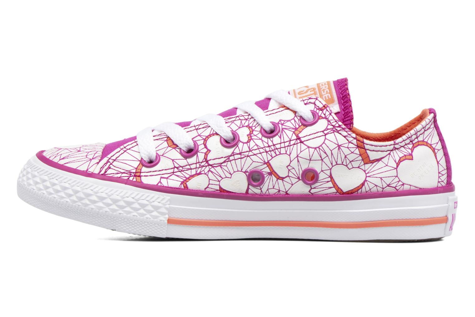 Baskets Converse Chuck Taylor All Star Ox Violet vue face