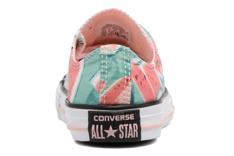 Baskets Converse Chuck Taylor All Star Ox Multicolore vue droite