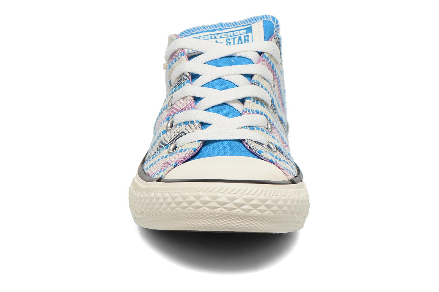 Baskets Converse Chuck Taylor All Star Ox Spray Multicolore vue portées chaussures