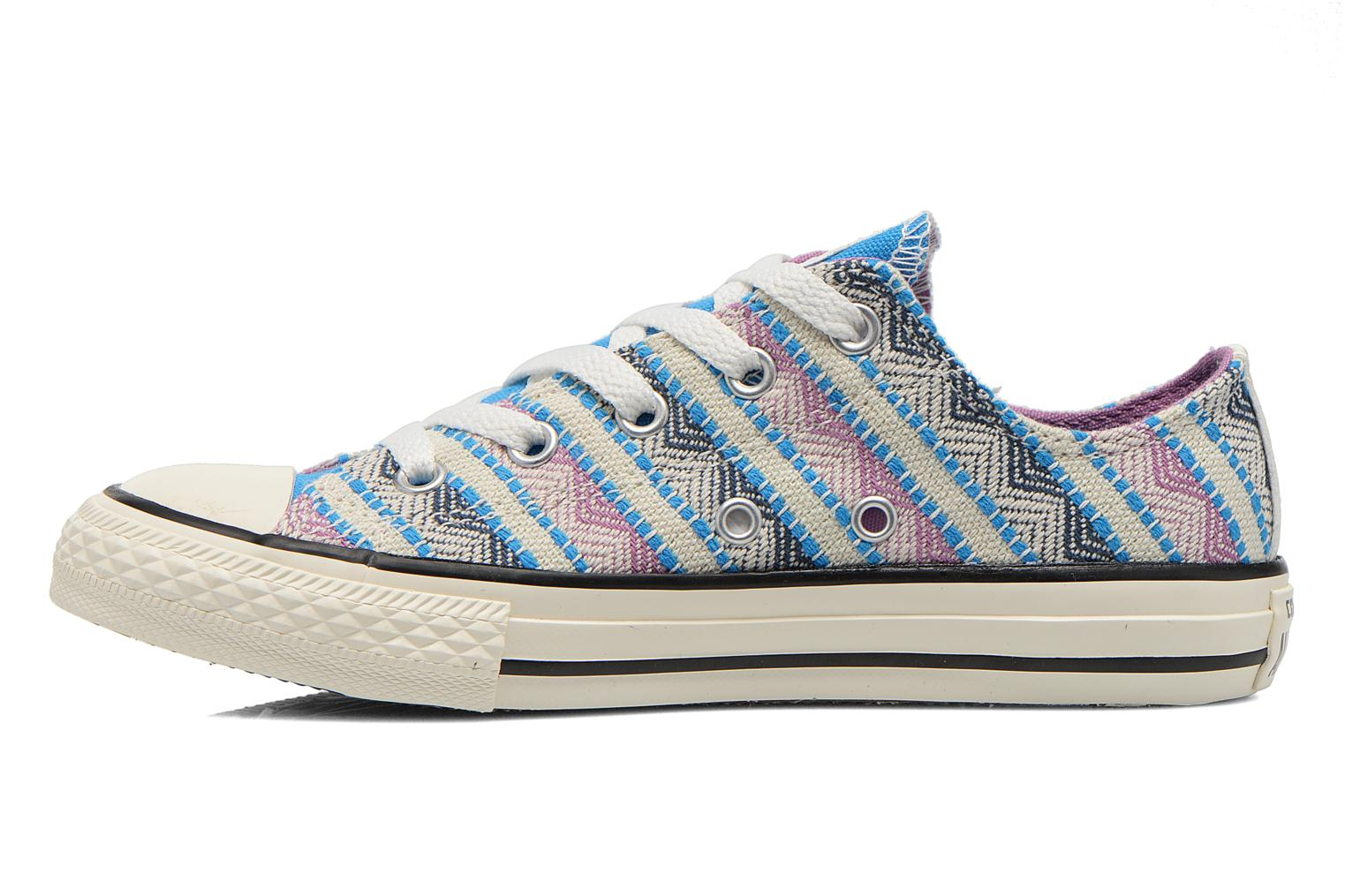 Baskets Converse Chuck Taylor All Star Ox Spray Multicolore vue face