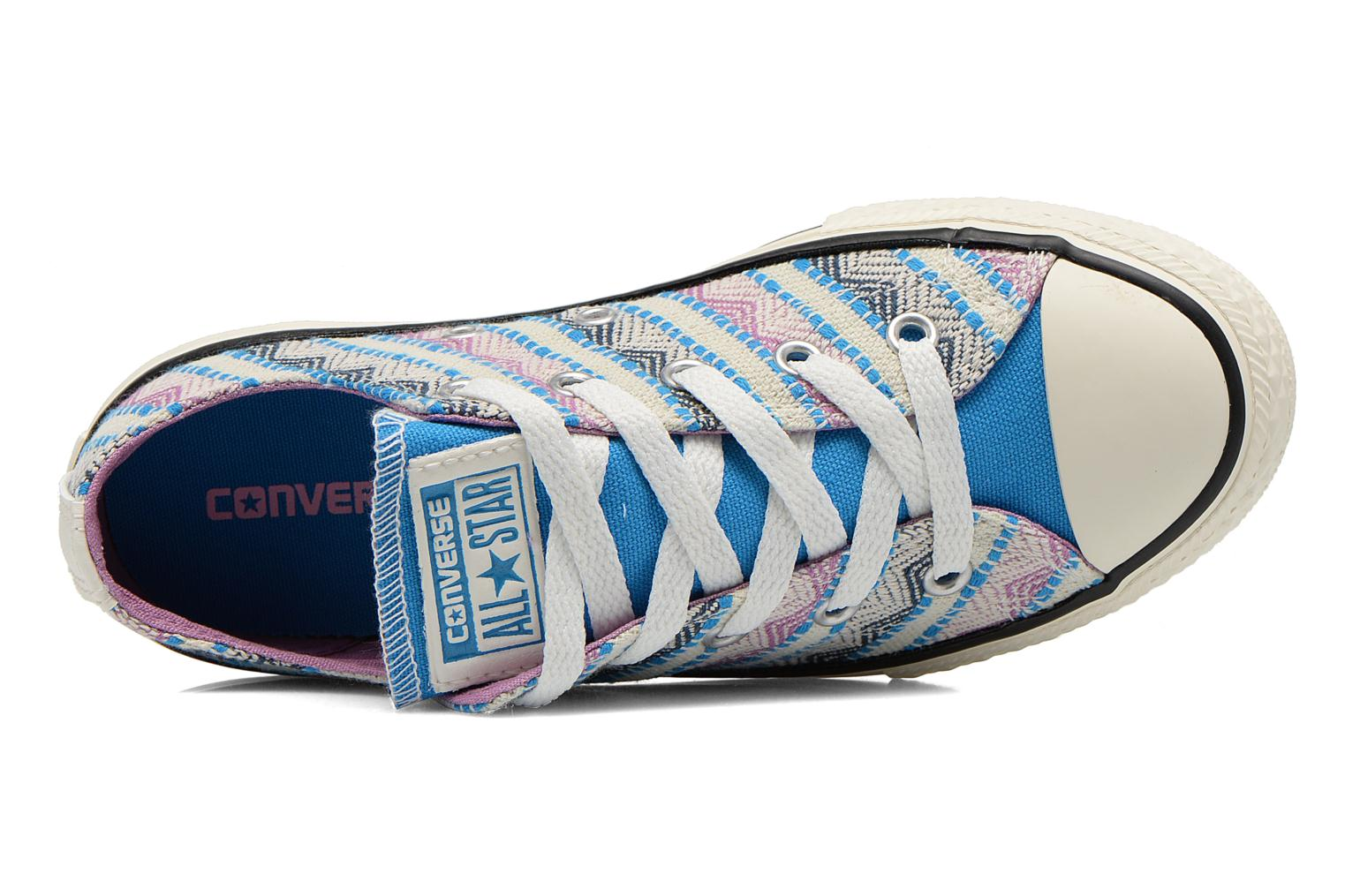 Baskets Converse Chuck Taylor All Star Ox Spray Multicolore vue gauche