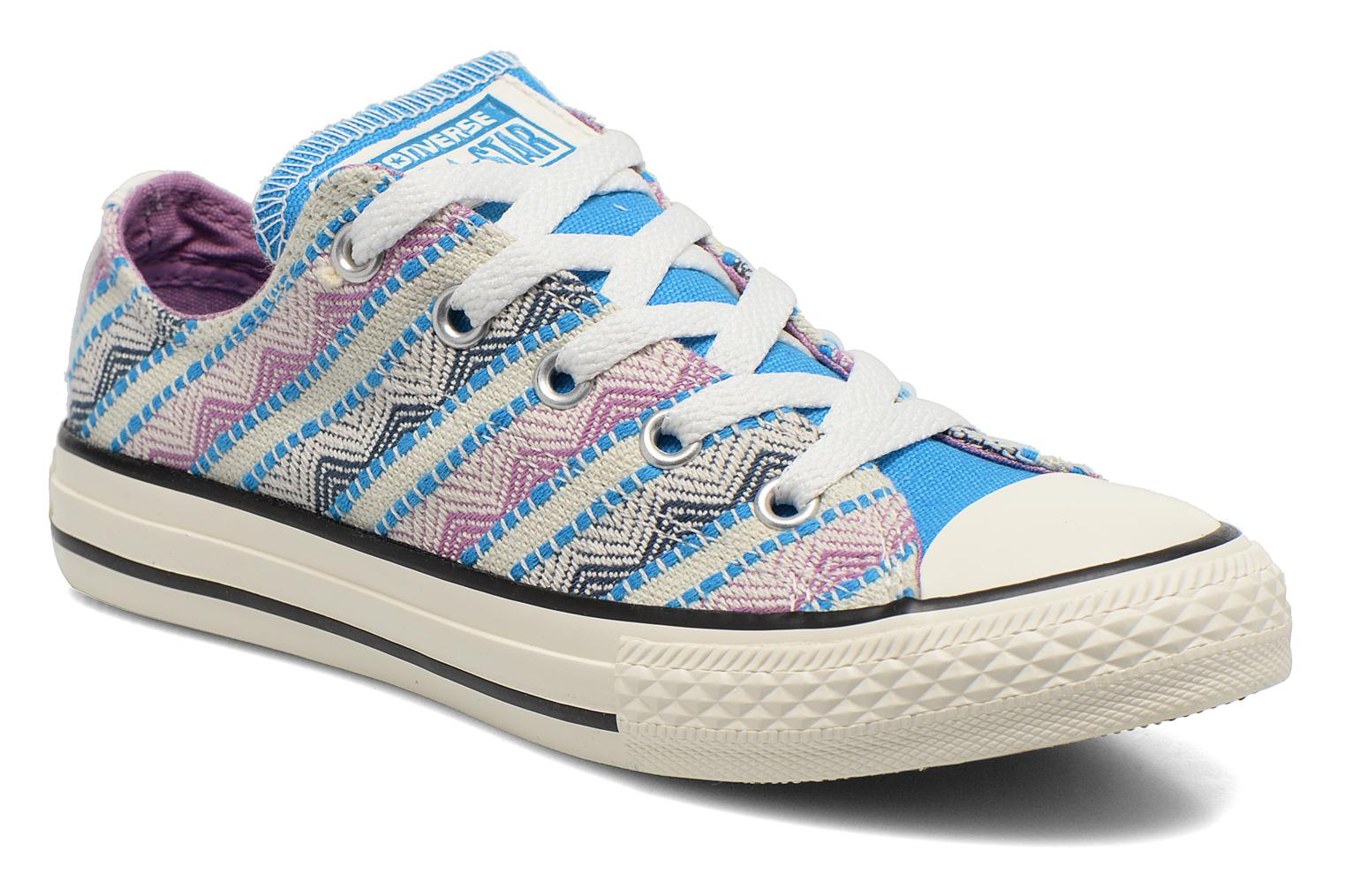 Baskets Converse Chuck Taylor All Star Ox Spray Multicolore vue détail/paire
