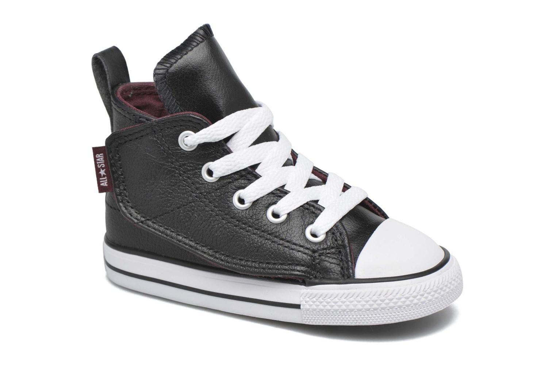 Baskets Converse Chuck Taylor All Star Simple Step Hi Noir vue détail/paire