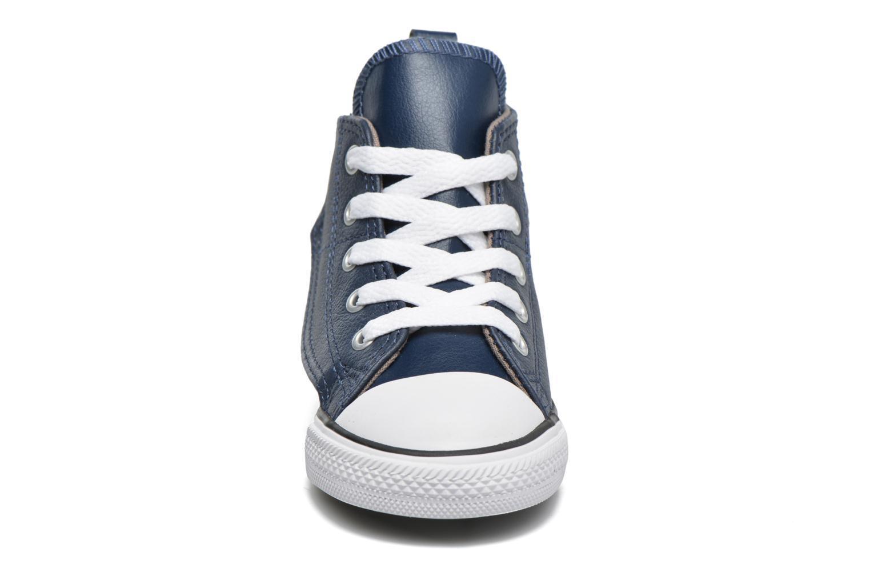 Baskets Converse Chuck Taylor All Star Simple Step Hi Bleu vue portées chaussures