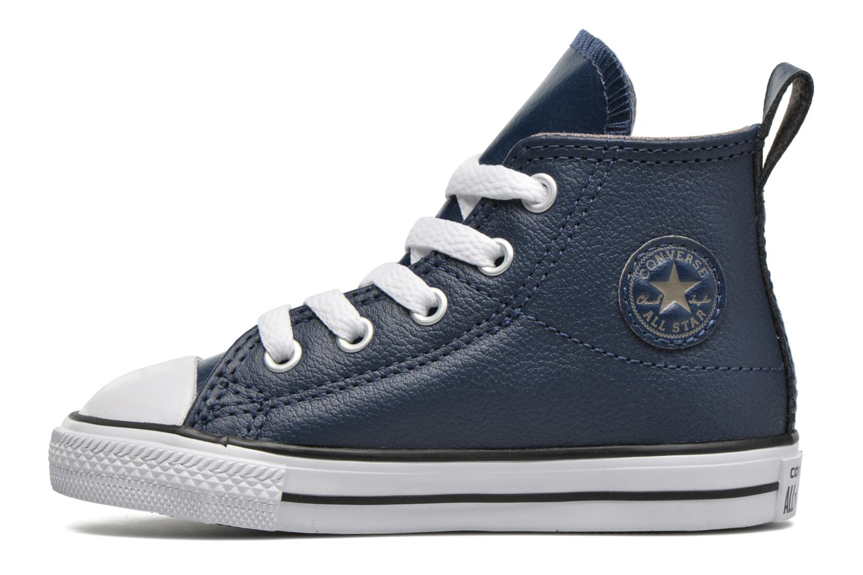 Baskets Converse Chuck Taylor All Star Simple Step Hi Bleu vue face