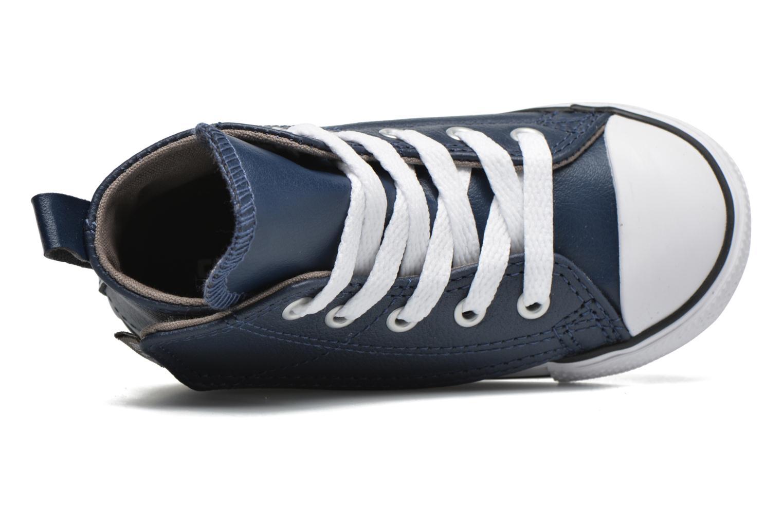 Baskets Converse Chuck Taylor All Star Simple Step Hi Bleu vue gauche
