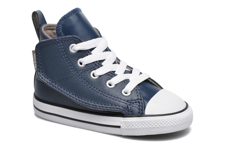 Baskets Converse Chuck Taylor All Star Simple Step Hi Bleu vue détail/paire