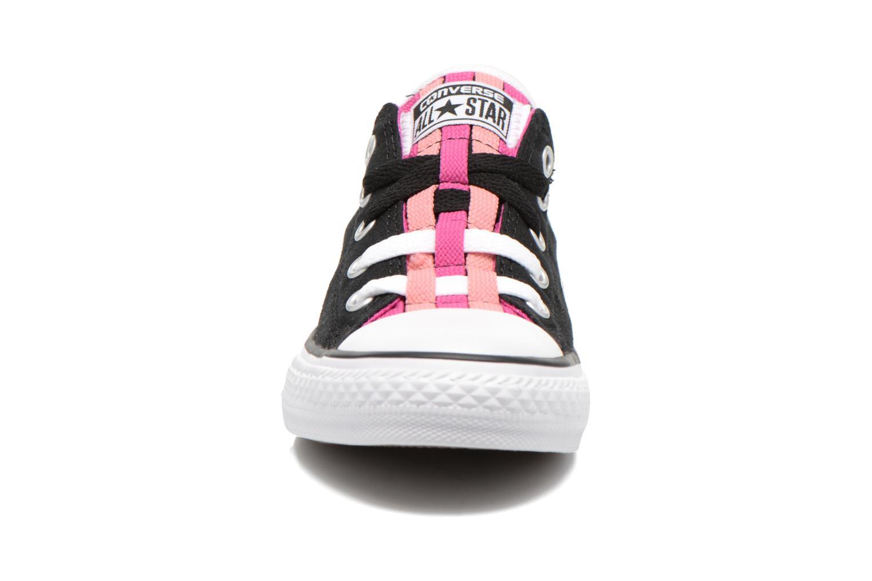 Baskets Converse Chuck Taylor All Star Loopholes Slip Noir vue portées chaussures