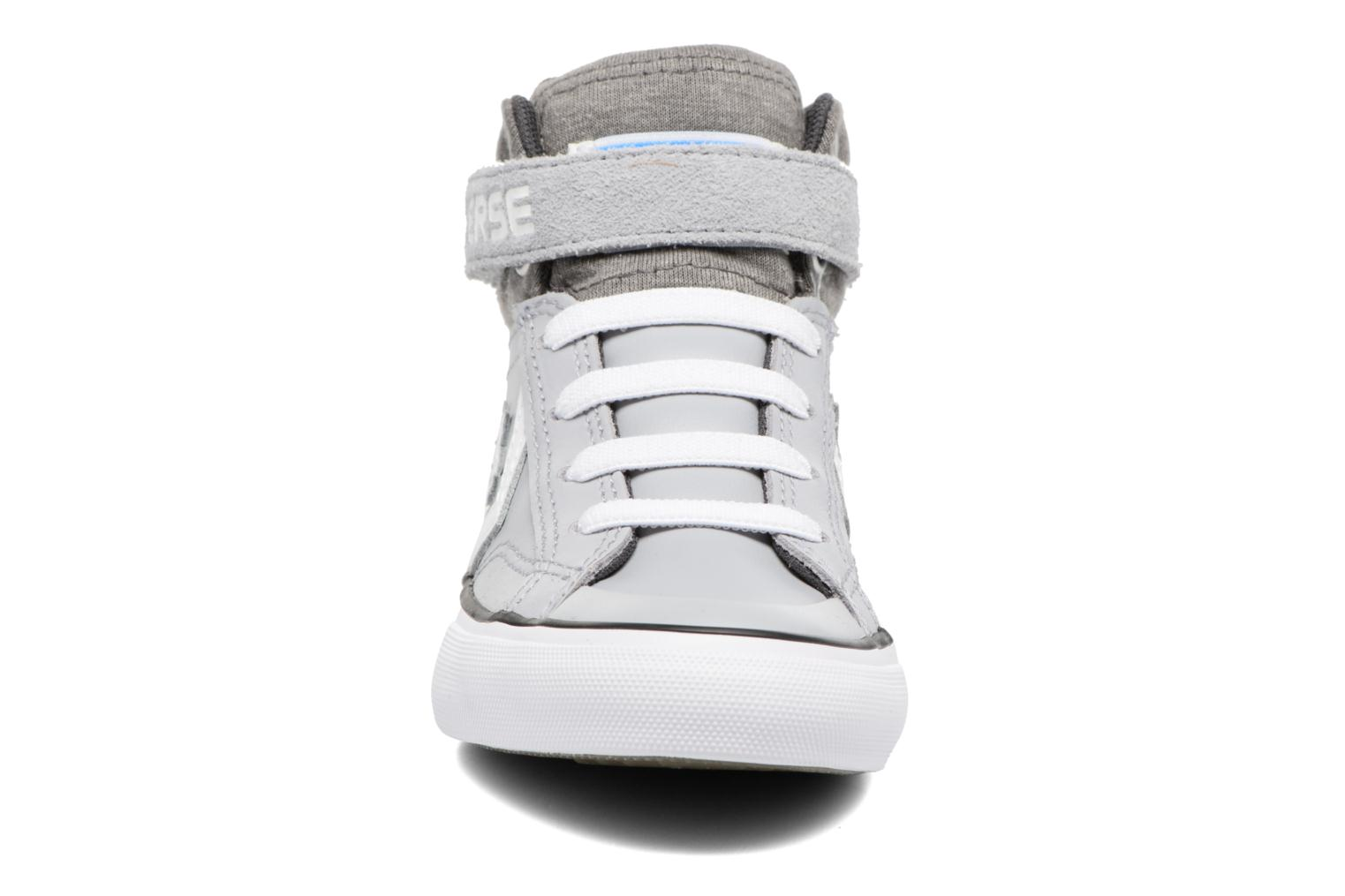 Sneakers Converse Pro Blaze Strap Stretch Hi Sport Leather Grijs model