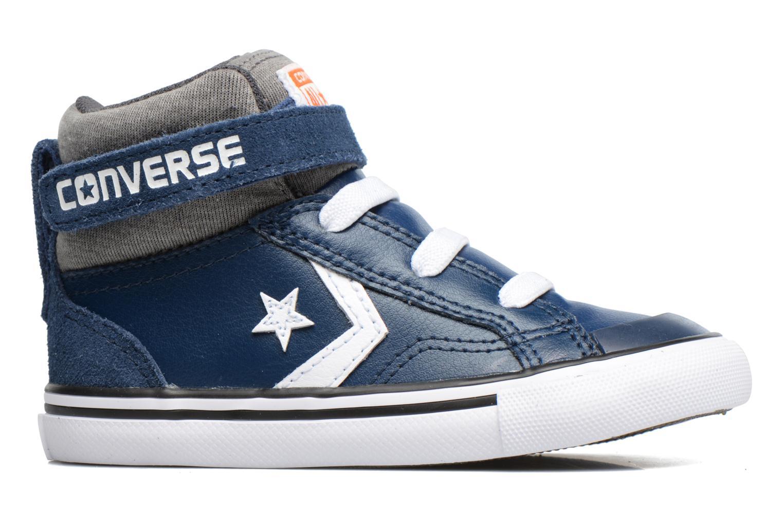 Baskets Converse Pro Blaze Strap Stretch Hi Sport Leather Bleu vue derrière