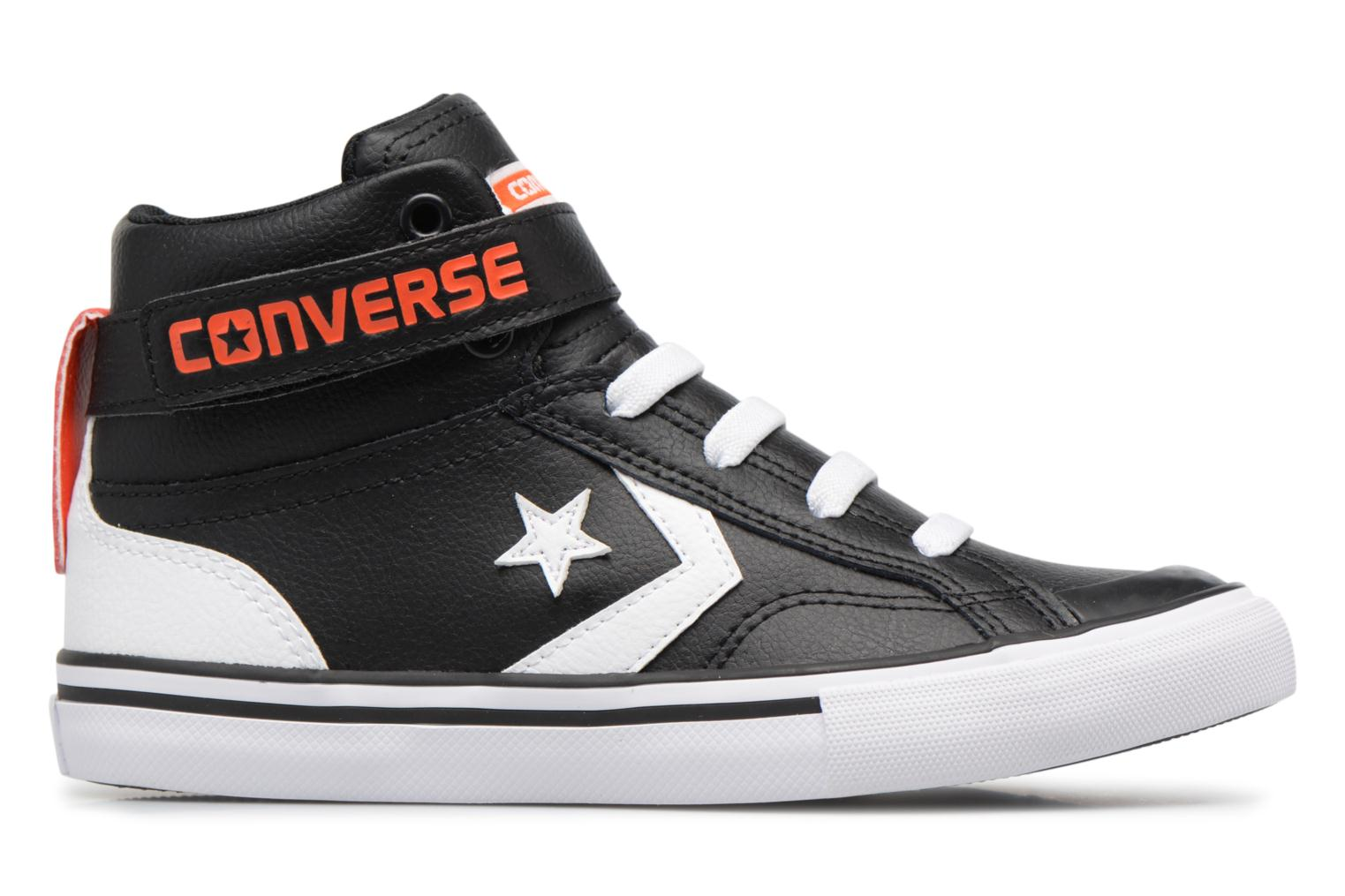 Sneakers Converse Pro Blaze Strap Stretch Hi Sport Leather Nero immagine posteriore