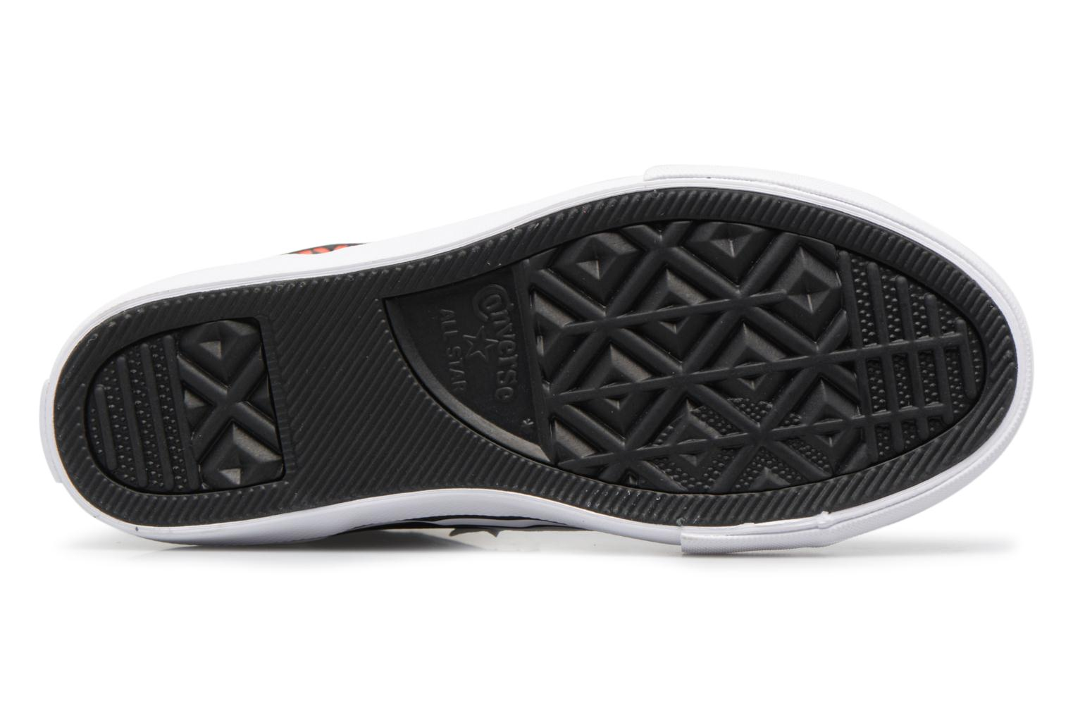 Sneakers Converse Pro Blaze Strap Stretch Hi Sport Leather Nero immagine dall'alto