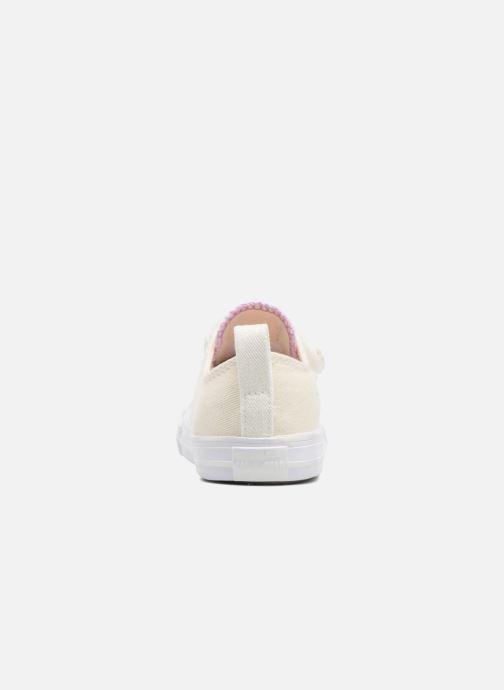 Sneaker Converse Chuck Taylor All Star 2V Ox weiß ansicht von rechts