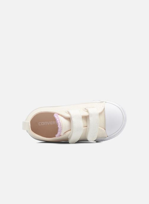 Sneaker Converse Chuck Taylor All Star 2V Ox weiß ansicht von links