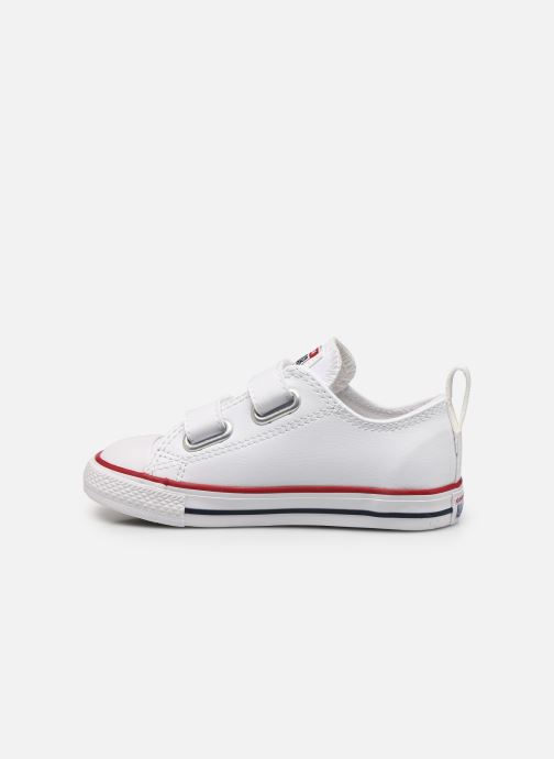 Sneaker Converse Chuck Taylor All Star 2V Ox weiß ansicht von vorne