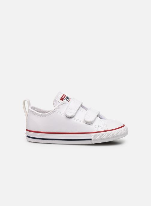 Sneaker Converse Chuck Taylor All Star 2V Ox weiß ansicht von hinten