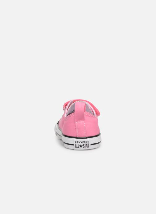 Trainers Converse Chuck Taylor All Star 2V Ox Pink view from the right