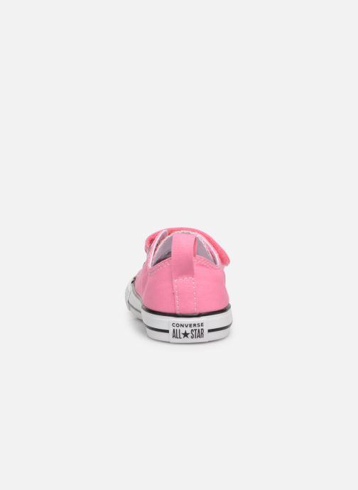 Sneakers Converse Chuck Taylor All Star 2V Ox Rosa immagine destra